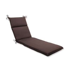 Forsyth Brown Outdoor Chaise Lounge Cushion