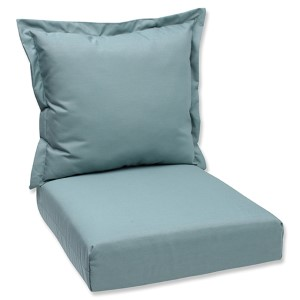 Canvas Spa Outdoor Deep Seating Cushion and Back Pillow with Sunbrella Fabric