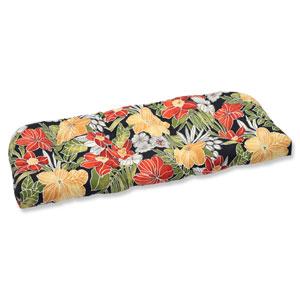 Clemens Noir Wicker Outdoor Loveseat Cushion