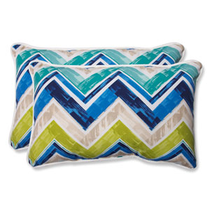 Marquesa Marine Rectangular Outdoor Throw Pillow, Set of 2