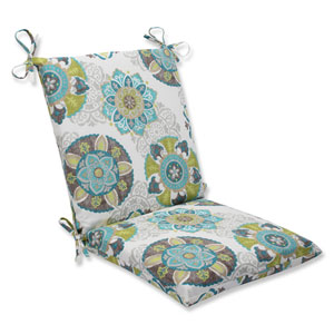 Allodala Oasis Squared Corners Outdoor Chair Cushion Cushion