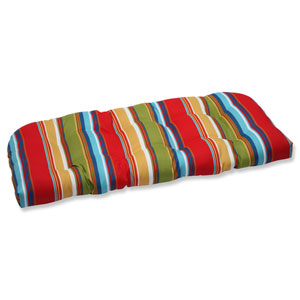 Westport Garden Wicker Outdoor Loveseat Cushion