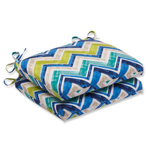 Marquesa Marine Squared Corners Outdoor Seat Cushion, Set of 2