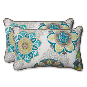 Allodala Oasis Rectangular Outdoor Throw Pillow, Set of 2