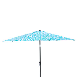 Best Turquoise 9-foot Patio Market Umbrella