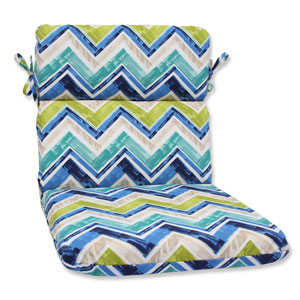 Marquesa Marine Rounded Corners Outdoor Chair Cushion Cushion