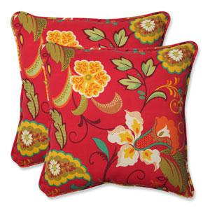 Tamariu Alfresco Valencia 18.5-inch Outdoor Throw Pillow, Set of 2