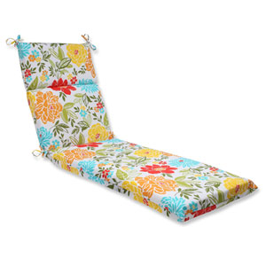 Spring Bling Multicolor Outdoor Chaise Lounge Cushion