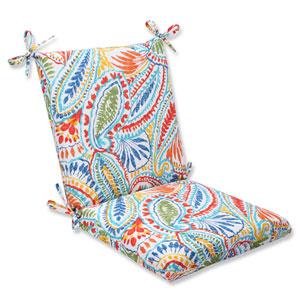 Ummi Multicolor Squared Corners Outdoor Chair Cushion Cushion