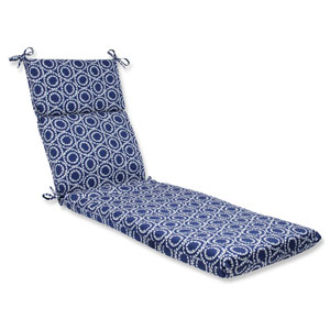 Ring a Bell Navy Outdoor Chaise Lounge Cushion