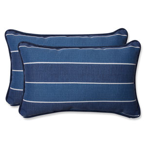 Wickenburg Indigo Rectangular Outdoor Throw Pillow, Set of 2