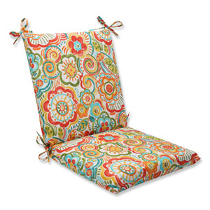 Bronwood Carnival Squared Corners Outdoor Chair Cushion Cushion