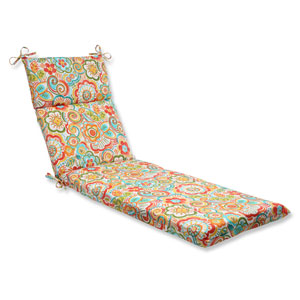 Bronwood Carnival Outdoor Chaise Lounge Cushion