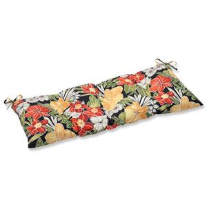 Clemens Noir Wrought Iron Outdoor Loveseat Cushion