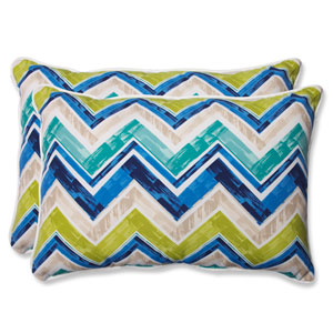 Marquesa Marine Over-sized Rectangular Outdoor Throw Pillow, Set of 2