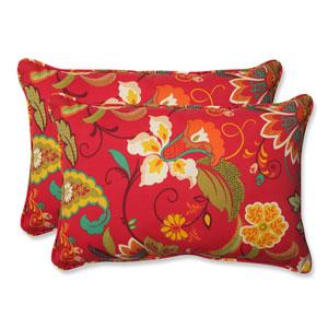 Tamariu Alfresco Valencia Over-sized Rectangular Outdoor Throw Pillow, Set of 2