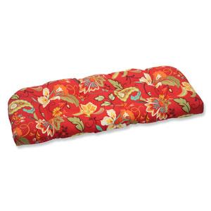 Tamariu Alfresco Valencia Wicker Outdoor Loveseat Cushion