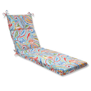 Ummi Multicolor Outdoor Chaise Lounge Cushion