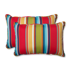Westport Garden Over-sized Rectangular Outdoor Throw Pillow, Set of 2