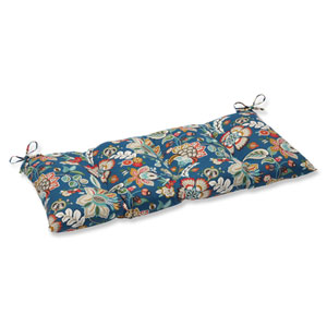 Telfair Peacock Wrought Iron Outdoor Loveseat Cushion