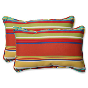 Westport Spring Rectangular Outdoor Throw Pillow, Set of 2
