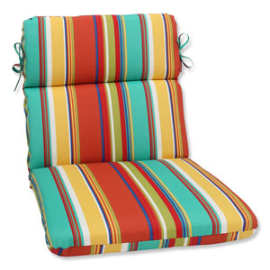 Westport Spring Rounded Corners Outdoor Chair Cushion