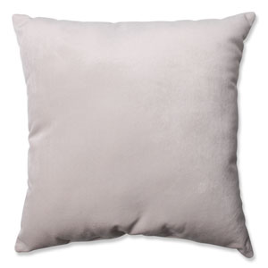 Belvedere Beach Knit Velvet 18-Inch Throw Pillow