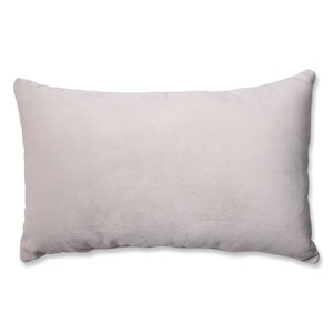 Belvedere Beach Knit Velvet Rectangular Throw Pillow