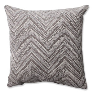 Union Driftwood Chenille 16.5-inch Throw Pillow