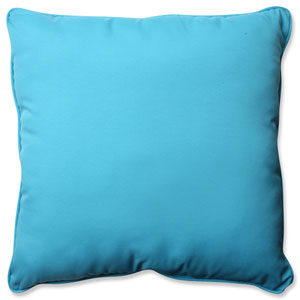 Veranda Turquoise 25-inch Outdoor Floor Pillow