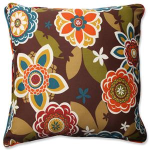 Annie Multicolor 25-Inch Outdoor Floor Pillow