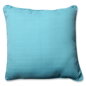 Forsyth Pool Blue 25-inch Outdoor Floor Pillow