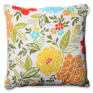 Spring Bling Multicolor 25-inch Outdoor Floor Pillow
