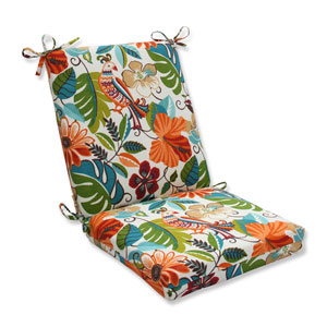 Outdoor Lensing Jungle Squared Corners Chair Cushion