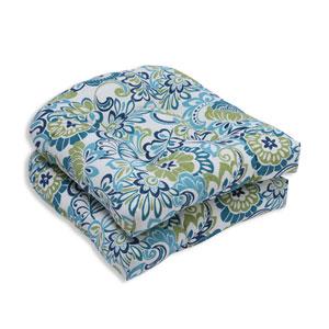 Outdoor Zoe Mallard Wicker Seat Cushion, Set of 2