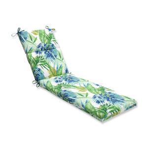 Outdoor Soleil Blue/Green Chaise Lounge Cushion