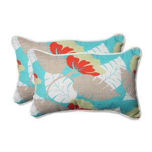 Outdoor Avia Surf Rectangular Throw Pillow, Set of 2