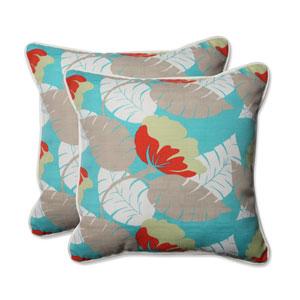 Outdoor Avia Surf 18.5-Inch Throw Pillow, Set of 2