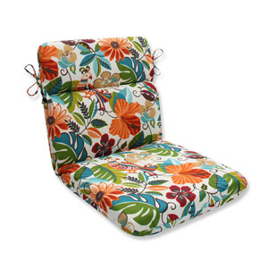 Outdoor Lensing Jungle Rounded Corners Chair Cushion