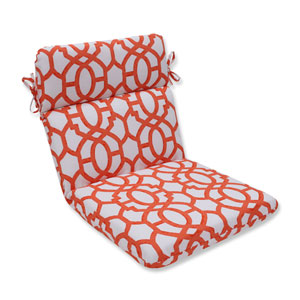 Outdoor Nunu Geo Mango Rounded Corners Chair Cushion