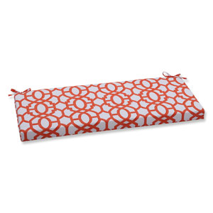 Outdoor Nunu Geo Mango Bench Cushion