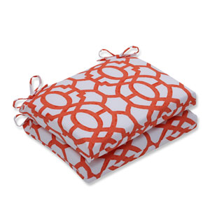 Outdoor Nunu Geo Mango Squared Corners Seat Cushion, Set of 2