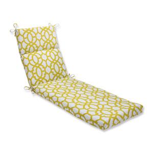 Outdoor Nunu Geo Wasabi Chaise Lounge Cushion
