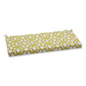 Outdoor Nunu Geo Wasabi Bench Cushion