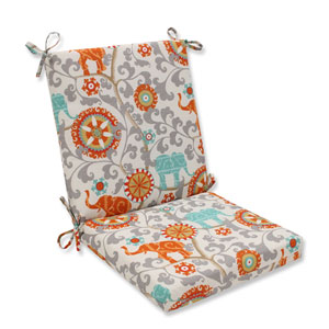 Outdoor Menagerie Cayenne Squared Corners Chair Cushion