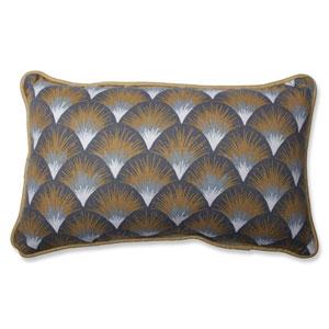 Setu Shapes Amber Rectangular Throw Pillow
