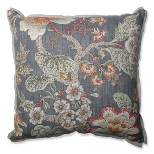 Room With A View Haze 18-inch Throw Pillow