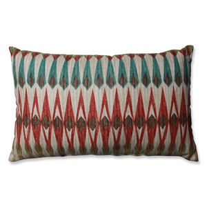 Acela Adobe Rectangular Throw Pillow