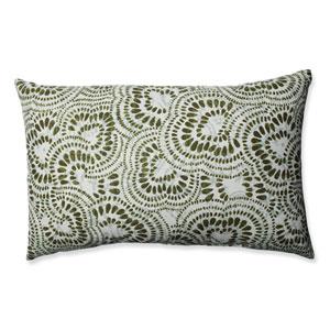 Jax Olive Rectangular Throw Pillow