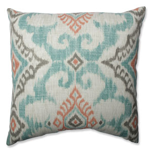 Kantha Surf 16.5-Inch Throw Pillow